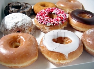 Stock photos donuts